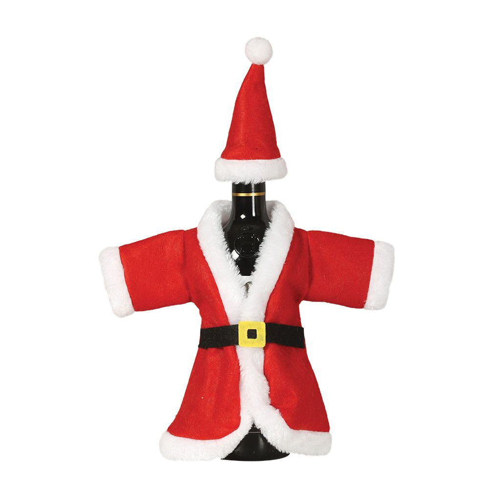 Babbo Natale 40 Cm.Copribottiglia Babbo Natale 40cm